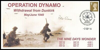 £14.99 • Buy Major General PETER GLOVER Signed Operation Dynamo Withdrawal From Dunkirk Cover