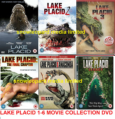 LAKE PLACID 1-6 DVD Complete Film Collection Part 1 2 3 4 5 6 Movies NEW R2 UK • 64.99£