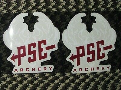 $6 • Buy *new Pse Archery Logo Decals Package Of 2 Retail $20 Sale $6 For 2