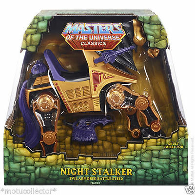 $124.55 • Buy MOTU Classics Night Stalker Figure  NEW Ship Worldwide  SHIP US