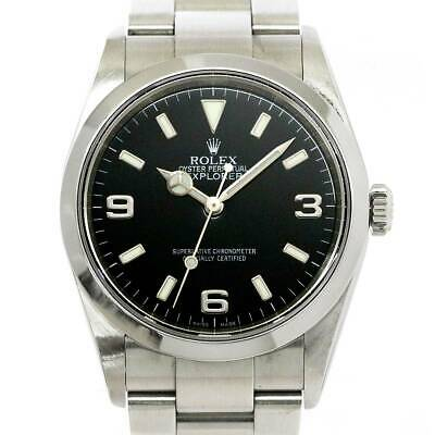 $ CDN7198.15 • Buy ROLEX Explorer I 114270 Serial D Automatic Black Dial Mens Watch 90102353