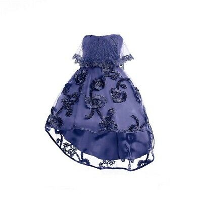 Girls Kids Gorgeous Floral High Low Fashion Dress Party Bridesmaid 3 To 13 Years • 35.99£