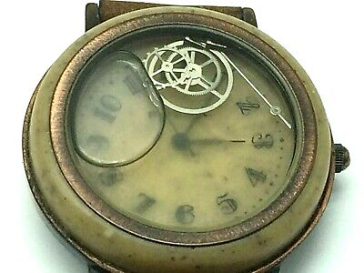 $ CDN60.49 • Buy Vintage Fossil Watch With Parts Floating In Liquid~Bubble Watch