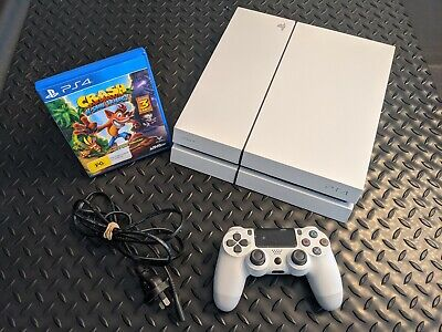 AU278.88 • Buy 500GB PS4 Sony PlayStation 4 Console -controller, Crash Trilogy & Power Cord