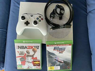 AU248 • Buy Microsoft Xbox One S 500 GB White Console Including Games
