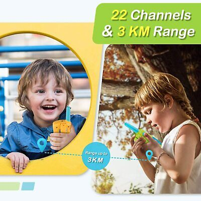 $ CDN36.75 • Buy Kids Walkie Talkies 2 M Long Range 2 Way Radio 22 Channels For Kid Toys Gifts