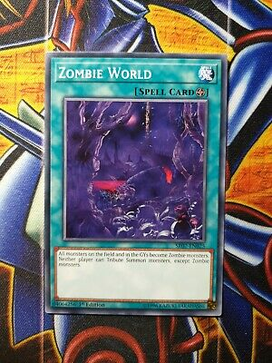 Zombie World SR07-EN025 Common Yu-Gi-Oh Card 1st Edition New • 2.30£