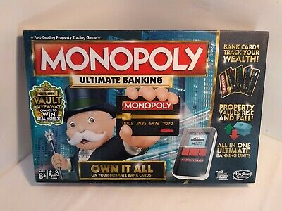 $20.70 • Buy Hasbro Monopoly Ultimate Banking Board Game - B6677 (💯% COMPLETE)