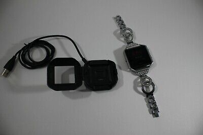 $ CDN98.80 • Buy Fitbit Blaze Fb502 Activity Tracker Black Band Smart Fitness Watch W Charger OEM