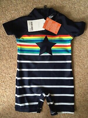 Next UV Sun Protection Suit Star 6-9 Months BNWT • 9.99£
