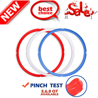 $13.66 • Buy Silicone Sealing Rings For Instant Pot Accessories Fits 5 Or 6 Quart Models