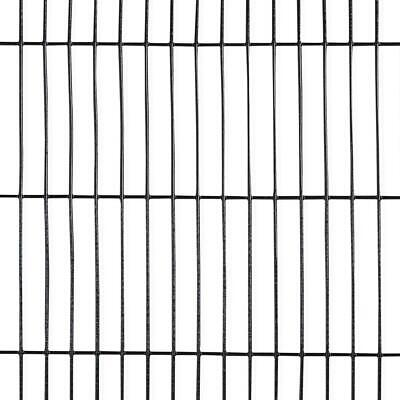 Welded Wire Fence 4 Ft. X 50 Ft. 16-Gauge Black PVC Coated Mesh 1/2 In. X 3 In. • 99.78£