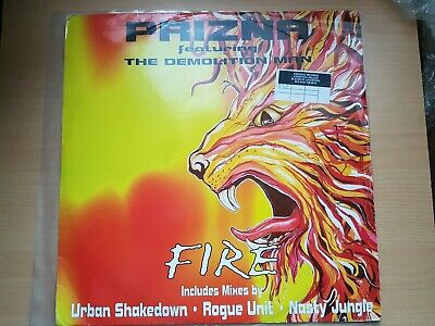Prizna ‎– Fire FT Demoliton Man  -  12  Vinyl D&B  • 69.99£