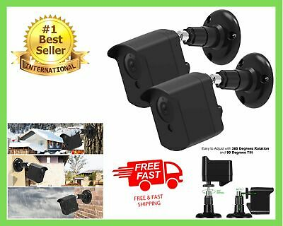 $ CDN20.78 • Buy Wall Mount Bracket For Wyze Camera Protective Cover Security Cam V2 V1 2 Pack