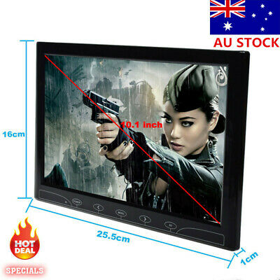 AU101.20 • Buy 10  TFT LED Touch Button Monitors HDMI/VGA/AV CCTV LCD Display Screen Speaker AU