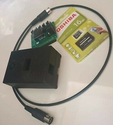 Pi1541 For Use On Commodore C64/C128/C16 With SD Card And Serial Cable. • 23£