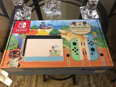 $ CDN1250 • Buy Nintendo Switch Console Animal Crossing Edition New In Box