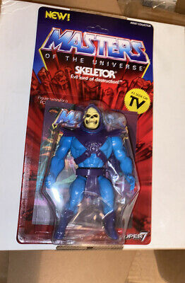 $31 • Buy Masters Of The Universe VINTAGE STYLE Skeletor 5 1/2  Action Figure MOTU SUPER 7