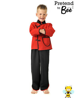 Chinese Boy Costume By Pretend To Bee - 3 To 5 Years • 8£