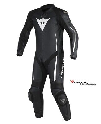 $653.98 • Buy Dainese Assen 1pc Leather Race Track Sport Motorcycle Suit - EU 60/ UK 50