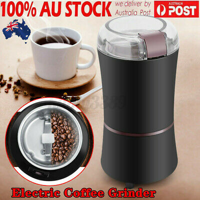 AU33.49 • Buy AUS 400W Electric Coffee Mill Grinder Beans Spices Herb Nuts Grinding Machine :)