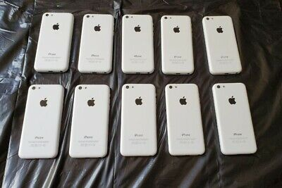 $ CDN490 • Buy Lot Of 10 Apple IPhone 5C - 16GB - Rogers, Fido, Chatr - White Color - A1532