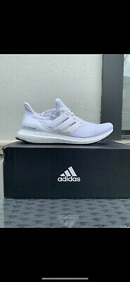 $ CDN195 • Buy Adidas Ultra Boost 4.0 Triple White S77416 Size 9.5 100% Authentic Brand New