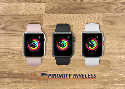 $ CDN250.37 • Buy Apple Watch Series 3 38mm/42mm GPS+Cellular/ GPS ONLY