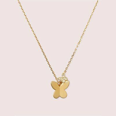 $ CDN49.30 • Buy Kate Spade In A Flutter Pendant Necklace NWT