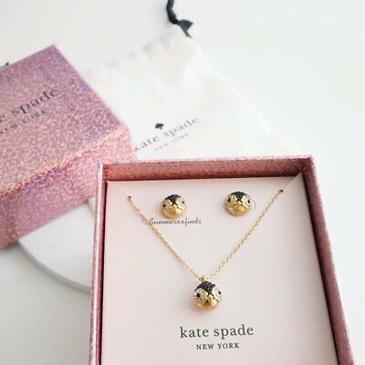 $ CDN62.90 • Buy Kate Spade Penguin Pendant And Studs Box New W/ Box Dust Bag Included