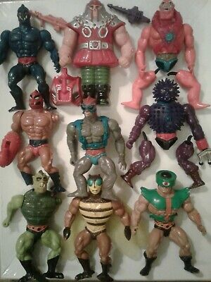 $49.99 • Buy Masters Of The Universe TLC Vintage Figure Lot Of 9 Mattel He Man And The MOTU