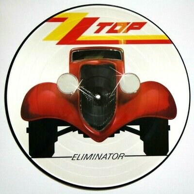 Zz Top - Eliminator Vinyl Lp Picture Pic Disc W3774 P • 39.99£