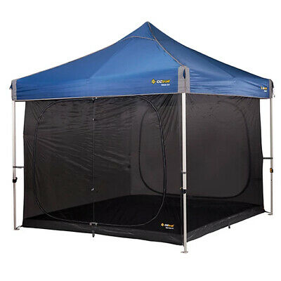 AU189.95 • Buy Oztrail Gazebo 3.0 Screen House Inner Kit Zipped Insect Proof Camping Hiking