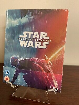 AU77.36 • Buy Star Wars: The Rise Of Skywalker Steelbook (3D+2D Blu-ray 1/4 Slip) Sealed RARE!