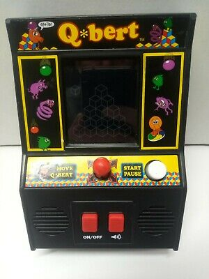 $ CDN15.22 • Buy 2016 Basic Fun Q*BERT QBERT Mini Arcade Classic Video Game #09549