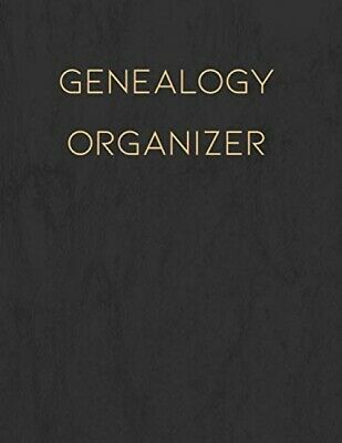Genealogy Organizer: Track And Record Your Research Into Your Family History • 8.52£