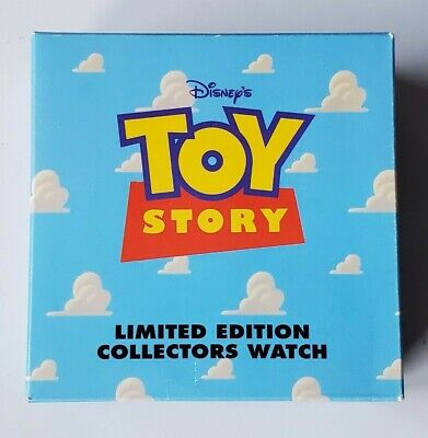 $34.95 • Buy Disney Toy Story 1996 Fossil Watch In Lunchbox Case Woody On RC Scud LTD ED