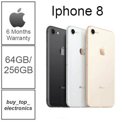 AU429 • Buy NEW Apple IPhone 8 64/256GB AU STOCK UNLOCKED 6 MONTH WARRANTY FREE EXPRESS POST