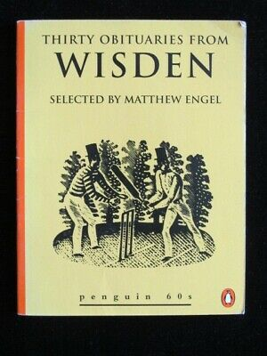 £0.99 • Buy Thirty Obituaries From Wisden Selected By Matthew Engel (Penguin 60s) Paperback