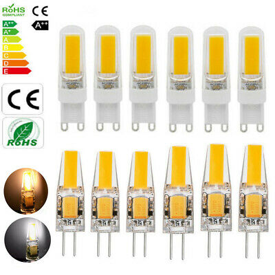 AU6.99 • Buy G4 G9 LED Bulb 6W 8W 10W COB Dimmable Capsule Lamp Replace Halogen Bulbs