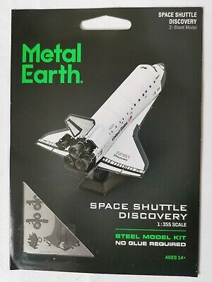 Metal Earth Space Shuttle Discovery Colour Variant • 15.99£