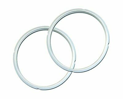 $17.15 • Buy Genuine Instant Pot Sealing Ring 2 Pack Clear 5 Or 6 Quart