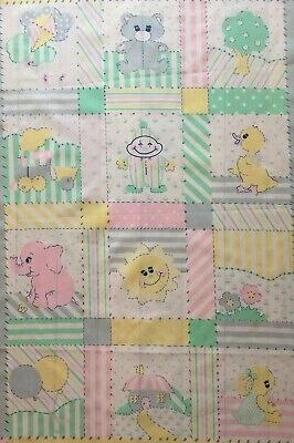 Patchwork Quilting Panels Kids Baby Cushion Quilt Patches Small Squares • 0.99£