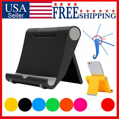 $4.49 • Buy Cell Phone Fordable Desk Stand Holder Mount Cradle Dock IPhone Galaxy Switch