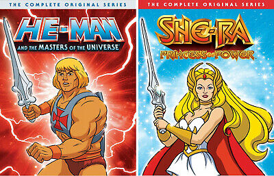 $114.97 • Buy He-man Masters Of The Universe & She-ra Complete Series DVD NEW 80's Cartoon