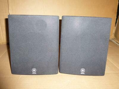 Yamaha NS-E103 Speakers With Wall Mounts-25/80 W,6 Ohms-Full Working Order. • 25£