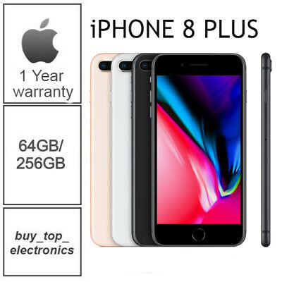AU589 • Buy NEW Apple Iphone 8+ 8 Plus 64/256GB AUS STOCK 1 YEAR WARRANTY FREE EXPRESS POST