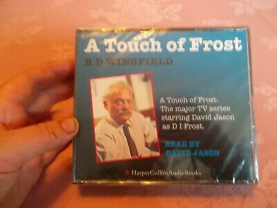 A TOUCH OF FROST By R D WINGFIELD CD AUDIOBOOK - Still Sealed • 10£