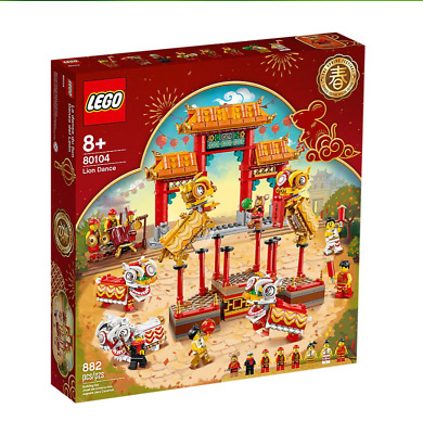 $139 • Buy New In Box LEGO Chinese New Year 80104 Lion Dance Limited Edition