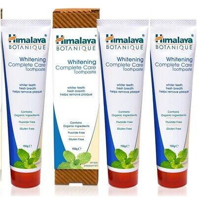 Himalaya Complete Care Toothpaste Whitening Oral Care Neem Fresh Breath 150 Ml • 10.99£